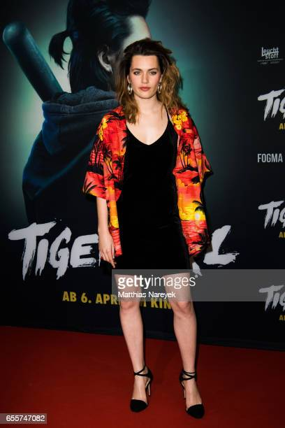 Ella Rumpf attends the premiere of the film 'Tiger Girl' at Zoo Palast on March 20 2017 in Berlin Germany