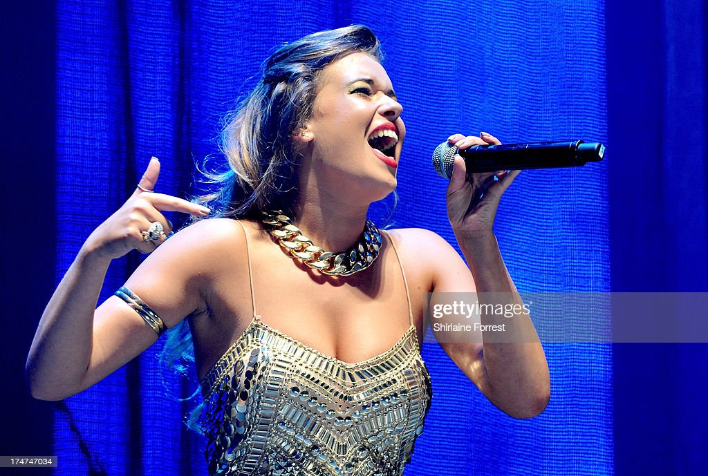 Ella Shaw performs at Key 103 Live at Manchester Arena on July 28, 2013 in Manchester, England.