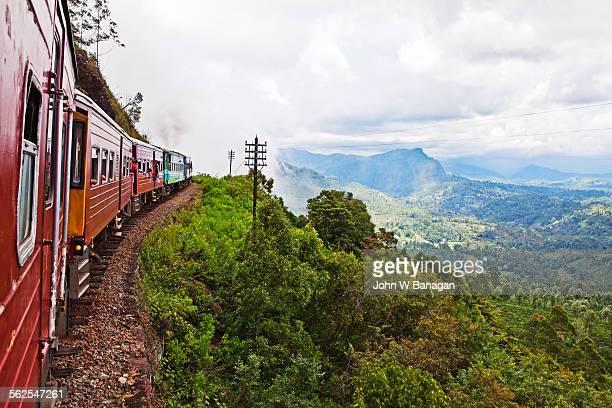 Ella to Kandy train, Sri Lanka