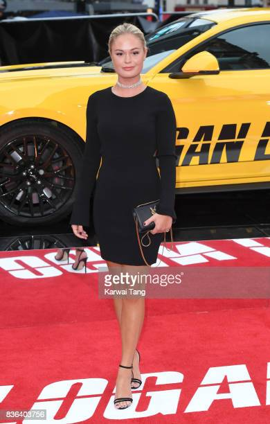 Ella Willis attends the UK premiere of 'Logan Lucky' at the Vue West End on August 21 2017 in London England