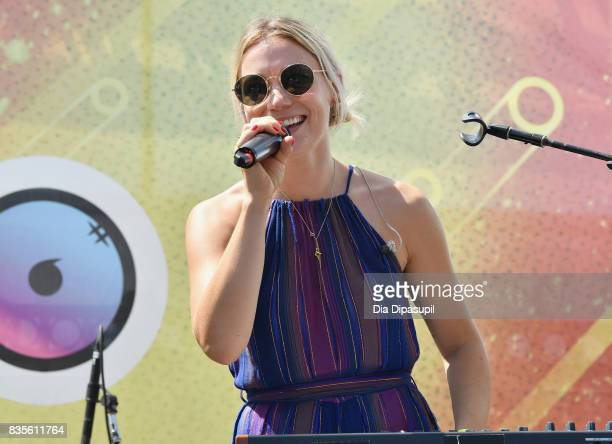 Ella Zoller of PROM performs during Day One of 2017 Billboard Hot 100 Festival at Northwell Health at Jones Beach Theater on August 19 2017 in...