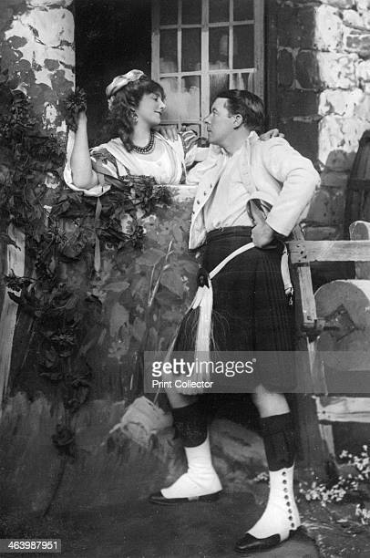 Ellaline Terriss and Seymour Hicks in The Gay Gordons c1907 Terriss as Peggy Quainton and Hicks as Angus Graeme Hicks and Terriss married in 1893...