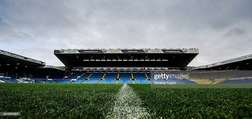 Elland Road home to Leeds United prior to the Sky Bet Championship Match between Leeds United and Newcastle United at Elland Road on November 20, 2016 in London, England.