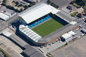 Elland Road Stadium Leeds West Yorkshire 2007 Aerial view of the home of Leeds United Football Club Artist Historic England Staff Photographer