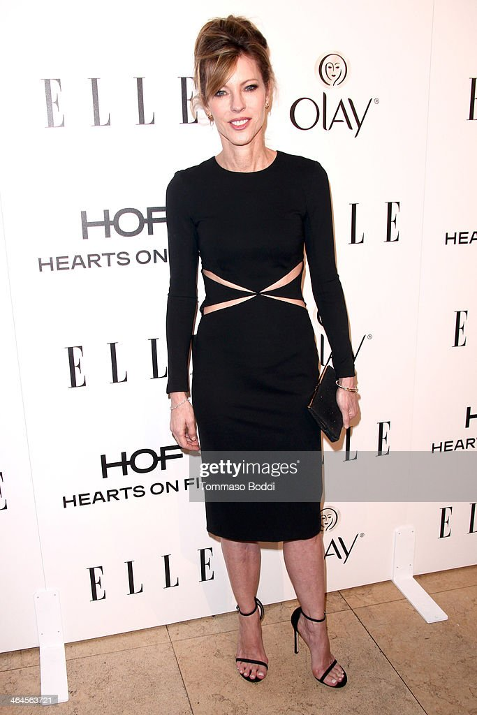 Elle Editor in Chief Robbie Myers attends the ELLE Women In Television Celebration held at the Sunset Tower on January 22, 2014 in West Hollywood, California.