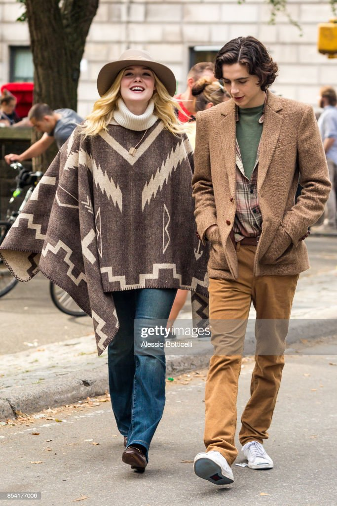 Celebrity Sightings in New York City - November 26, 2017