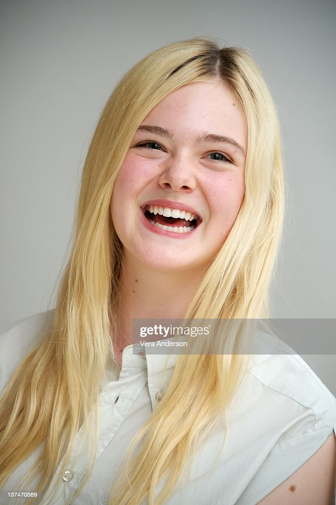 Elle Fanning at the 'Ginger & Rosa' Press Conference at the Four Seasons Hotel on November 30, 2012 in Beverly Hills, California.