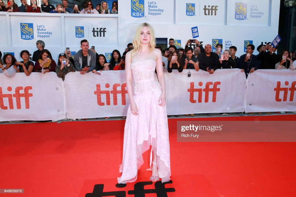 Elle Fanning attend the 'Mary Shelley' premiere during the 2017 Toronto International Film Festival at Roy Thomson Hall on September 9, 2017 in Toronto, Canada.