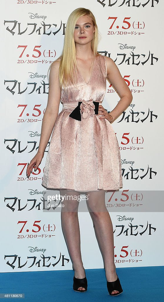 <a gi-track='captionPersonalityLinkClicked' href=/galleries/search?phrase=Elle+Fanning&family=editorial&specificpeople=2189940 ng-click='$event.stopPropagation()'>Elle Fanning</a> attends 'Maleficent' press conference for Japan premiere at Grand Hyatt Tokyo on June 24, 2014 in Tokyo, Japan.