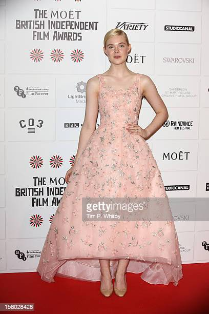 Elle fanning attends the British Independent Film Awards at Old Billingsgate Market on December 9 2012 in London England
