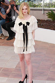 Elle Fanning attends 'The Neon Demon' Photocall durig The 69th Annual Cannes Film Festival on May 20 2016 in Cannes