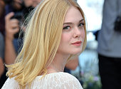 Elle Fanning attends 'The Neon Demon' Photocall during the 69th annual Cannes Film Festival at the Palais des Festivals on May 20 2016 in Cannes...