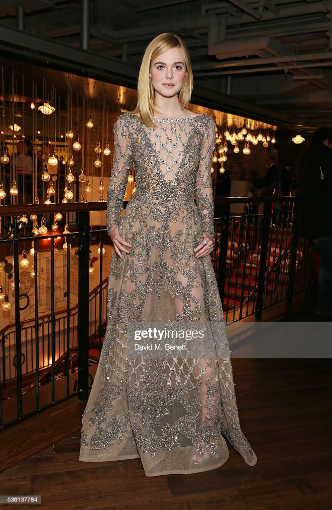 <a gi-track='captionPersonalityLinkClicked' href=/galleries/search?phrase=Elle+Fanning&family=editorial&specificpeople=2189940 ng-click='$event.stopPropagation()'>Elle Fanning</a> attends the UK Premiere of 'The Neon Demon' at Picturehouse Central on May 31, 2016 in London, England.