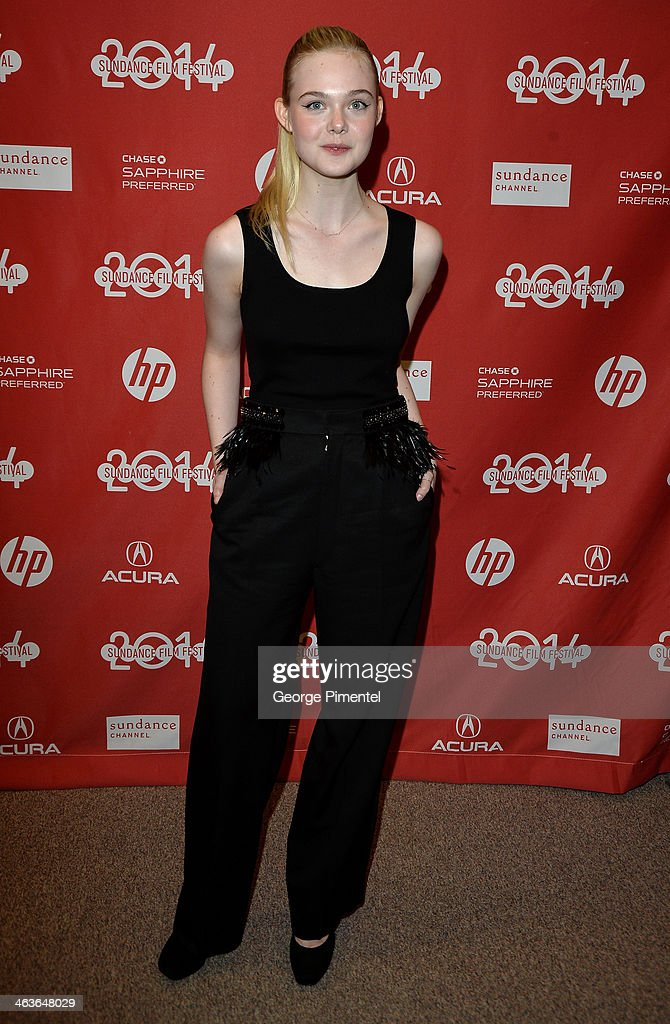 <a gi-track='captionPersonalityLinkClicked' href=/galleries/search?phrase=Elle+Fanning&family=editorial&specificpeople=2189940 ng-click='$event.stopPropagation()'>Elle Fanning</a> attends the 'Young Ones' Premiere at Eccles Center Theatre on January 18, 2014 in Park City, Utah.