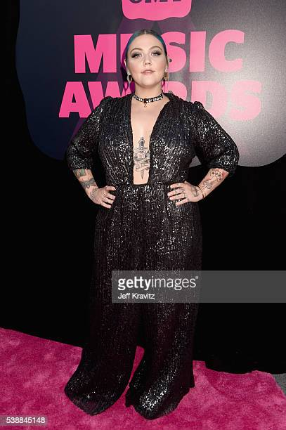 Elle King attends the 2016 CMT Music awards at the Bridgestone Arena on June 8 2016 in Nashville Tennessee