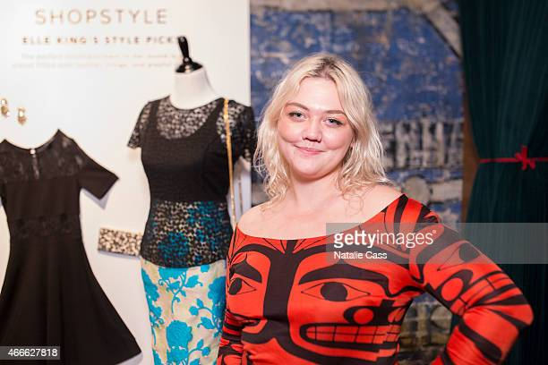 Elle King attends the Style / Trax by ShopStyle during the 2015 SXSW Music Film Interactive Festival at Swift's Attic on March 16 2015 in Austin Texas