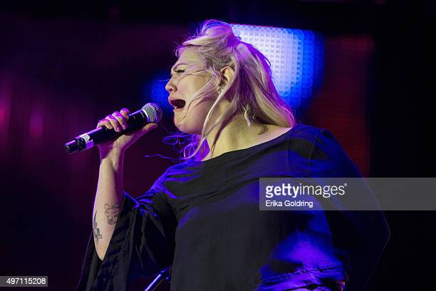 Elle King performs at Emeril Lagasse Foundation's Boudin Bourbon Beer at Champions Square on November 13 2015 in New Orleans Louisiana