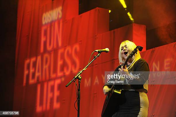 Elle King performs onstage during Cosmopolitan Magazine's Fun Fearless Life Conference powered by WME Live at The David Koch Theatre at Lincoln...