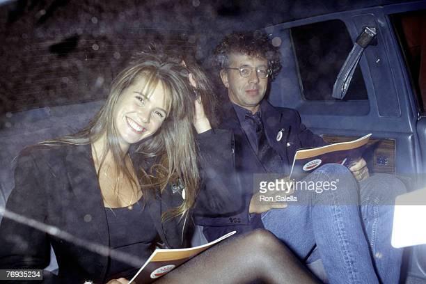 Elle Macpherson and Gilles Bensimon