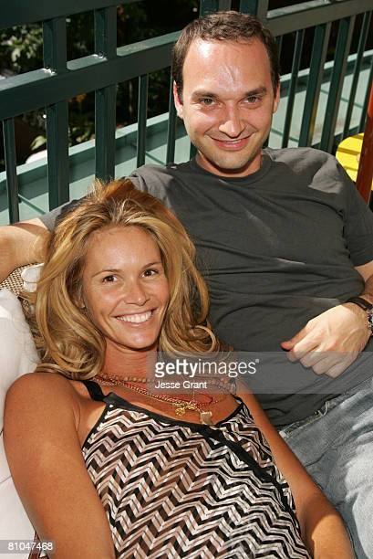 Elle Macpherson and Jeff Vespa