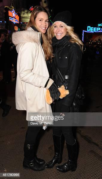 Elle Macpherson and Melissa Odabash...