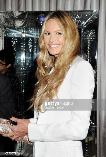 Elle Macpherson attends as skincare brand Rodial hosts the third annual Beautiful Awards honouring women of beauty style and elegance at the...