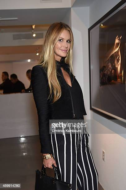 Elle Macpherson attends Chrome Hearts Celebrates The Miami Project During Art Basel With Zoe Kravitz at Miami Design District on December 3 2014 in...