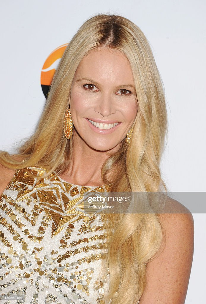 Elle MacPherson attends the 2013 G'Day USA Black Tie Gala at JW Marriott Los Angeles at L.A. LIVE on January 12, 2013 in Los Angeles, California.