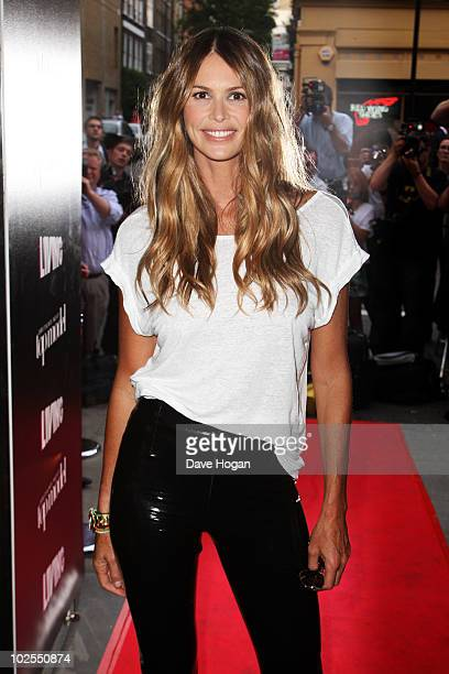 Elle Macpherson attends the Britain's Next Top Model press launch party held at Circus on June 30 2010 in London England