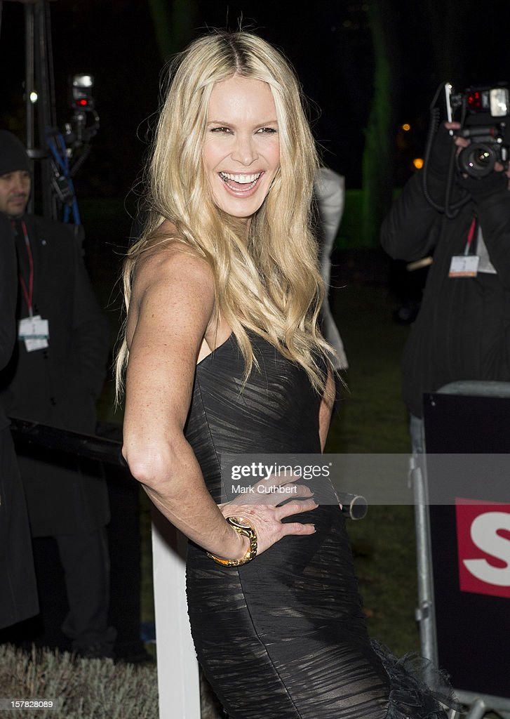 Elle Macpherson attends the Sun Military Awards at Imperial War Museum on December 6, 2012 in London, England.