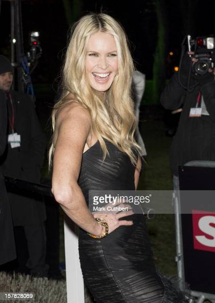 Elle Macpherson attends the Sun Military Awards at Imperial War Museum on December 6 2012 in London England