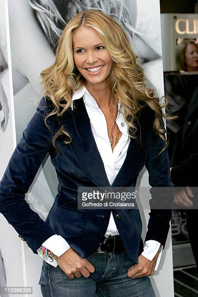 Elle MacPherson during Elle MacPherson Launches 'Elle MacPherson The Body' Beauty Product Range at Boots Sedley Place in London Great Britain