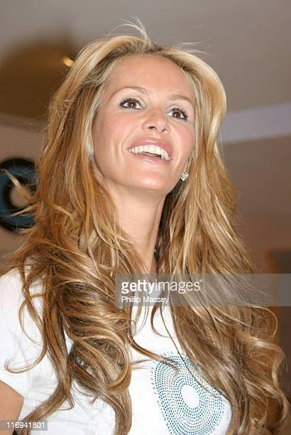 Elle Macpherson during Fashion Targets Breast Cancer Launch at Brown Thomas in Dublin Ireland