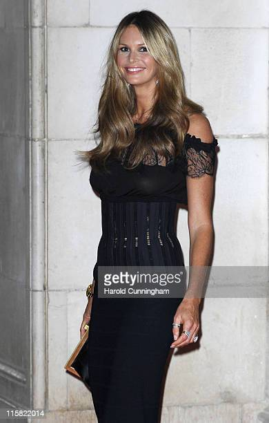 Elle MacPherson during Raisa Gorbachev Foundation Party – Red Carpet at Stud House Hampton Court Palace in Richmond upon Thames Great Britain