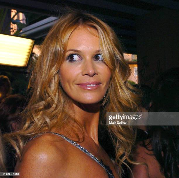 Elle Macpherson during The 15th Annual Night of 100 Stars Oscar Gala Arrivals at The Beverly Hills Hotel in Beverly Hills California United States