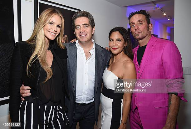 Elle Macpherson Fontainebleau's Jeffrey Soffer Chrome Hearts Founder Laurie Lynn Stark and Chrome Hearts Founder Richard Stark attend Chrome Hearts...