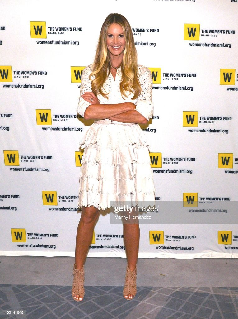 Elle Macpherson hosts the 2015 Power of the Purse Luncheon to benefit The Women's Fund on March 13, 2015 in Miami, Florida.