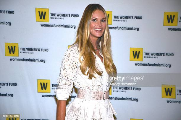 Elle Macpherson hosts the 2015 Power of the Purse Luncheon to benefit The Women's Fund on March 13 2015 in Miami Florida