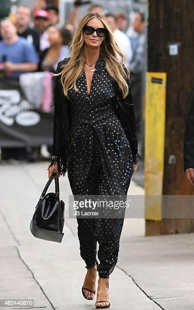 Elle Macpherson is seen on January 28 2015 in Los Angeles California