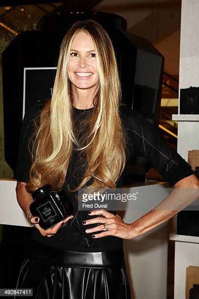 Elle Macpherson Launches The Super Elixir at Selfridges on May 22 2014 in London England