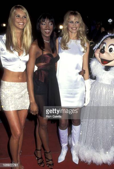 Elle Macpherson Naomi Campbell and...