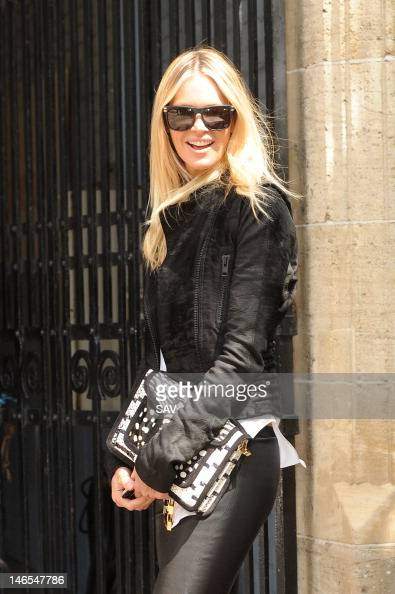 Elle Macpherson pictured at the ITV studios on June 19 2012 in London England