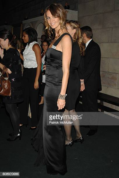 Elle McPherson attends CFDA/Vogue '7th ON SALE' 2007 Gala at 69th Regiment Armory on November 15 2007 in New York City