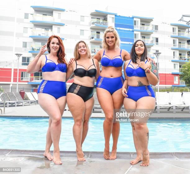 Elle Valera Ellana Bryan Laura Brioschi and Arabella S Ruby wear XeharStyle at Xehar Body Positive Mentors Host End of the Summer VIP Party...
