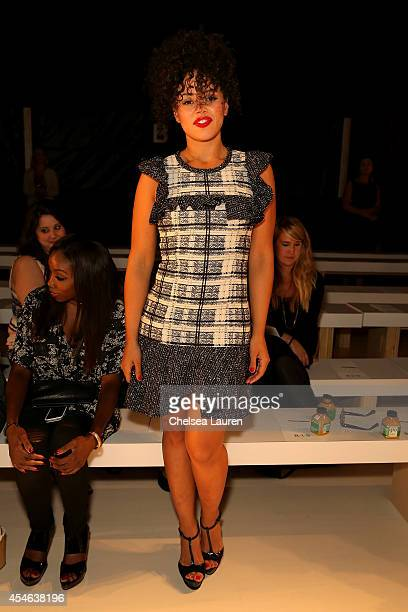Elle Varner attends the Marissa Webb fashion show during MercedesBenz Fashion Week Spring 2015 at The Salon at Lincoln Center on September 4 2014 in...