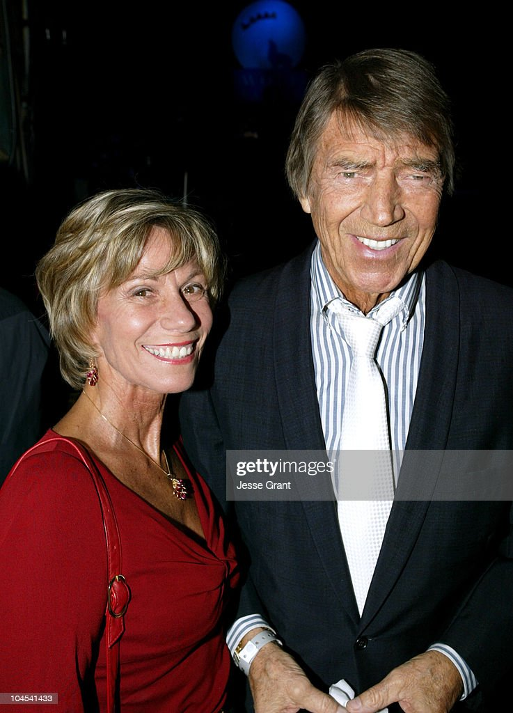 Ellen and <a gi-track='captionPersonalityLinkClicked' href=/galleries/search?phrase=Mickey+Hargitay&family=editorial&specificpeople=233644 ng-click='$event.stopPropagation()'>Mickey Hargitay</a> during Wolf Films Company Party at House of Blues Sunset Strip at House of Blues Sunset Strip in West Hollywood, California, United States.