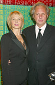 Ellen Barkin and Graydon Carter during Fashion Group International Presents The 19th Annual Night Of The Stars Honoring 'The Provocateurs Those Who...