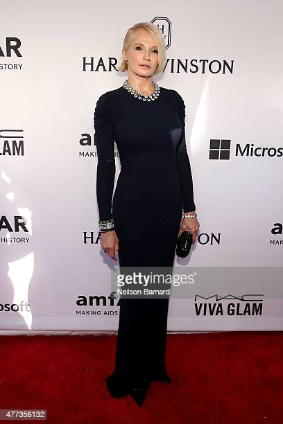 Ellen Barkin attends the 2015 amfAR Inspiration Gala New York at Spring Studios on June 16 2015 in New York City