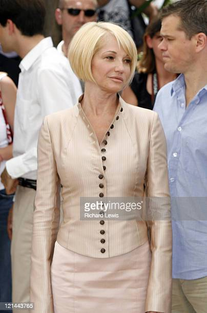 Ellen Barkin during 2007 Cannes Film Festival 'Ocean's Thirteen' Photocall at Palais des Festivals in Cannes France