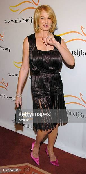 Ellen Barkin during 'A Funny Thing Happened on the Way to Cure Parkinson's' A Benefit Evening for the Michael J Fox Foundation for Parkinson's...